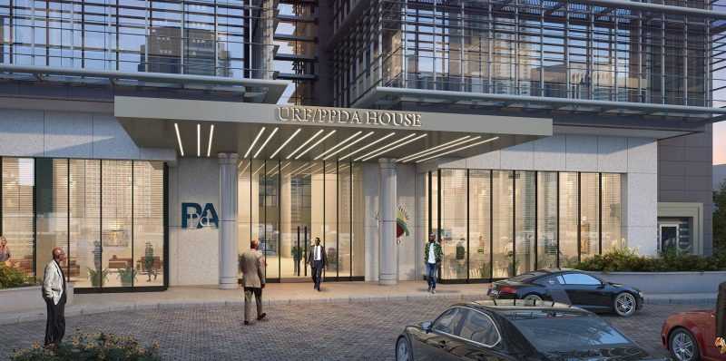 Joint Head Office Building for Uganda Road Fund & PPDA Headquarters