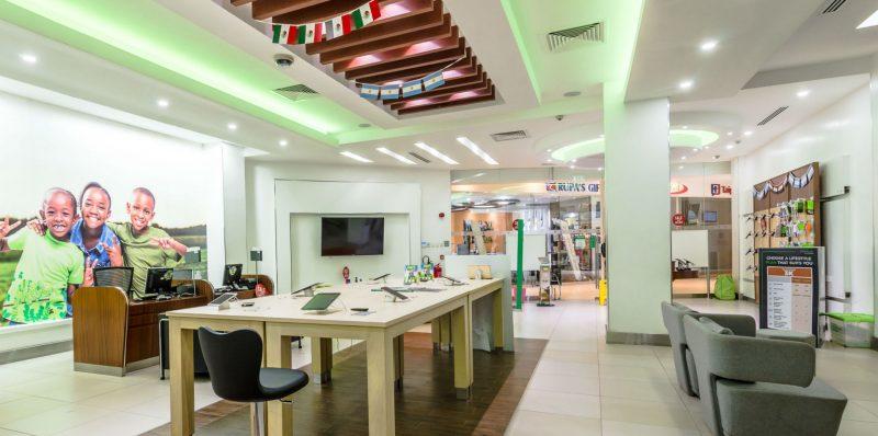 Various Safaricom Shops